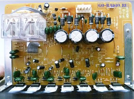Вывод радиатора микросхемы