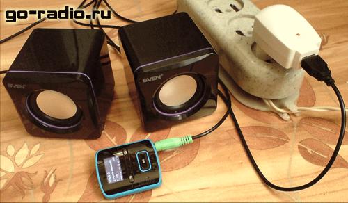 Схема усилителя портативных USB колонок.