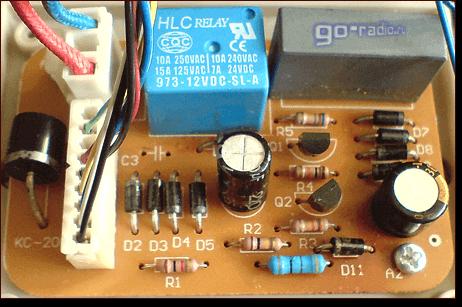 электрическая схема лебедки
