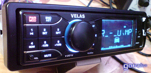 Velas V-201U. Автомагнитолы